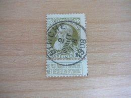 (12.07) BELGIE 1905 Nr 75  Mooie Afstempeling BINCHE - 1905 Thick Beard