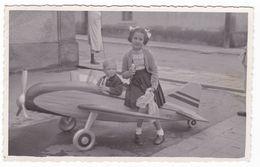 AEREO -  PLANE - GIOCATTOLO - AEREO GIOCO IN LEGNO - AEROMODELLO  - ANNO 1959 - Aviation