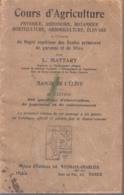 Cours D'Agriculture - Physique, Agronomie, Botanique, Horticulture, Arboriculture, élevage - Libros, Revistas, Cómics