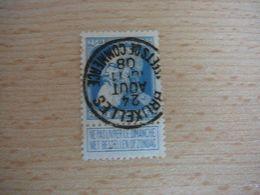 (12.07) BELGIE 1905 Nr 76  Mooie Afstempeling BRUXELLES-EFFETS DE COMMERCE - 1905 Thick Beard