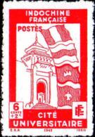 Indochine Poste N** Yv:278/280 Cité Universitaire De Hanoi (non-gommé) - Neufs