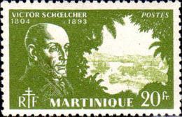 Martinique Poste N** Yv:217 Mi:225 Victor Schoelcher Politicien - Martinique (1886-1947)