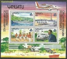 Vanuatu 1985 Mi Bl8 MNH ( ZS7 VNTbl8 ) - Voitures