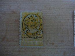 (12.07) BELGIE 1893  Nr 54  Mooie Afstempeling GAND - 1893-1907 Wappen