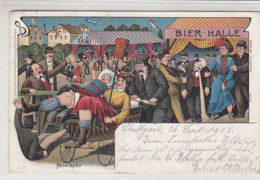SCHÜTZENFESTE Bierhalle - Heimkehr - Stuttgart - 1905 - Sonstige