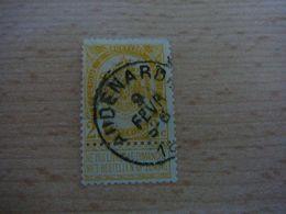 (12.07) BELGIE 1893  Nr 54  Mooie Afstempeling AUDENARDE - 1893-1907 Wappen