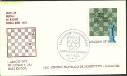 Uruguay 1979 Mi 1530 FDC ( FDC ZS3 URG1530a ) - Uruguay
