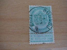 (12.07) BELGIE 1893  Nr 56 Mooie Afstempeling BOUSSU - 1893-1907 Wappen