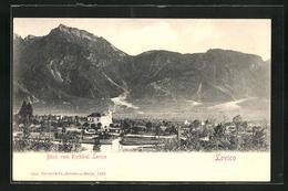 Cartolina Levico, Blick Vom Kurhôtel - Other Cities