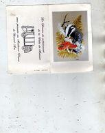 Service De Nettoiement De La Ville De Moissac Présente Ses Meilleurs Voeux 1982 Art Peinture M.J Pledger Blaireau Champi - Petit Format : 1981-90