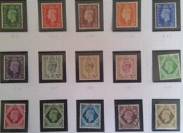 1937 Groot-Brittannië Frankeerzegels George VI - 1902-1951 (Re)