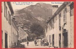 64 LARUNS - CPSM RR V 18/8/1951 TAXEE - C. C. - 32 LARUNS (B. P.). Montagne De L'Ars. Rue Bartheque - Garrache Edit. PAU - Laruns