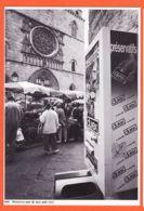 X46131 Rare CAHORS 27-05-1997 Préservez-moi De Mes Amis Distributeur Préservatif DUREX Marché Eglise Photo NESPOULOS - Cahors