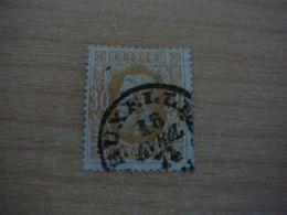 (12.07) BELGIE 1875  Nr 33 Mooie Afstempeling BRUXELLES - 1869-1883 Leopold II