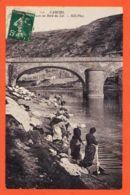 X46171 CAHORS (46) Laveuses Blanchisseuses Au Bord Du LOT Lavandières Scène Lessive 1910s à Marie GARRIGUES Eaunes Muret - Cahors