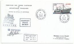 YT 407 Bateau Cap Horn - Posté à Bord De L'Astrolabe - Dumont D'Urville - 30/11/2005 - French Southern And Antarctic Territories (TAAF)