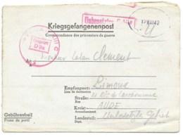 CORRESPONDANCE DES PRISONNIERS DE GUERRE / STALAG XIIIC POUR LIMOUX AUDE 1942 - Marcophilie (Lettres)