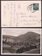 Friedland Bez. Breslau Fotokarte Blick Nach Storchberg, Bahnpostst. Breslau - Charlottenburg 1936 - Schlesien