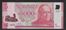 Paraguay 5,000 5000 Guaranies 2016 UNC - Paraguay