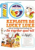 """PUB  """" VACHE QUI RIT """" Et   """" LUCKY LUKE  """"  1974 ( 1 ) - Livres, BD, Revues"""