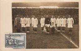 1930 FIFA World Cup - Team Of Yugoslavia In The Central Park - Rare - Football - Football