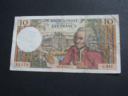 10 Dix Francs VOLTAIRE 6-12-1973   **** EN ACHAT IMMEDIAT **** - 1962-1997 ''Francs''