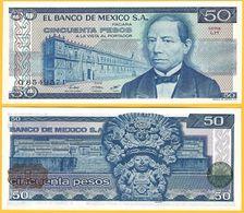 Mexico 50 Pesos P-73 1981 (Serie LH) UNC Banknote - Mexiko