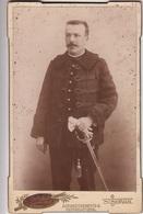 PHOTOGRAPHIE ORIGINALE Cartonnée - MILITARIA - Portrait Militaire - A. Bonnesoeur St-Servan - Krieg, Militär