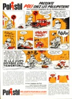 """PUB   """" POLISTIL """" Par """" Jean TABARY """" 1974 ( 4 ) - Objets Publicitaires"""