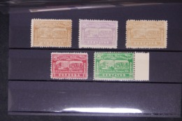 NICARAGUA - Série PA 17/21 ( Tremblement De Terre De 1931 ) - Neufs ( Toujours Sans Gomme )   -  L 64502 - Nicaragua