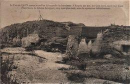 CPA 55 LE FORT DE VAUX Militaria - HS Verdun, Voyagée, Timbrée, écriture Plume, 1923, DD Blanc - Otros Municipios