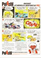 """PUB   """" POLISTIL """" Par """" Jean TABARY """" 1974 ( 5 ) - Objets Publicitaires"""