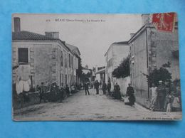 79 : IRLEAU : La GRANDE RUE , Animée , C.P.A. , En Bon état - Other Municipalities