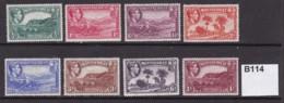 Montserrat 1938 8 Values To 1/- (MM) - Montserrat