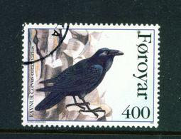 FAROE ISLANDS - 1995 Raven 400o Used As Scan - Faroe Islands