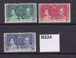 Falkland Islands 1937 Coronation (MM) - Falkland Islands