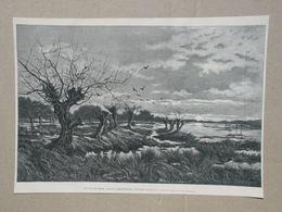 Genk. Gravure 1885. - Historische Dokumente