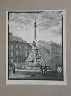 Verviers. Gravure 1885. - Historical Documents