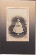 PHOTOGRAPHIE ORIGINALE Cartonnée - Portrait De Bébé - Rouault Decize - Anonyme Personen
