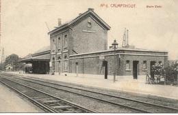 53 Calmpthout Statiezicht. Nr 6 Uitgave Hertogs Kempenhof Kalmthout - Kalmthout