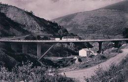 Val D'Hérens Près Euseigne, Bus Postal Sur Le Viaduc Du Sauterôt (6243) - VS Valais