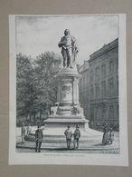 Antwerpen / Anvers. Gravure 1885. - Historische Dokumente