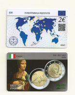 CARTE DE COLLECTION  ITALIE EMISE  PAR EUROSYMBOLS INSTITUTE  ESI ID CARD MILLESIME 2019  /0845 - Other