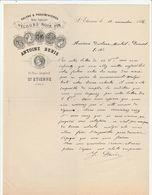 Loire - Saint Etienne - Antoine Denis - Velours - Galons Et Passementeries - Place Jacquard 1886 - France