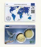 CARTE DE COLLECTION  ESTONIE EMISE  PAR EUROSYMBOLS INSTITUTE  ESI ID CARD MILLESIME 2020  /0845 - Other