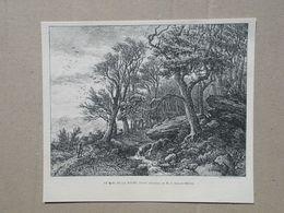 La Roche. Gravure 1885. - Historische Dokumente