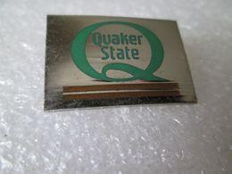 PIN'S   QUAKER STATE   MOTOR OIL - Pin's