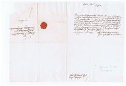 MONTALCINO - GIOVANNI BINDI SERGARDI - BISHOP / VESCOVO - LETTERA  AUTOGRAFA / AUTOGRAPH - 1824 - Autografi