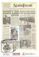 2002  Centenaire De La Course Cycliste Paris- Roubaix: Carte Offficielle - Radsport
