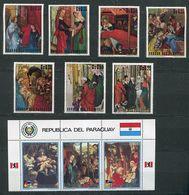 (lot 14 - CL 138) Paraguay * Série - La Sainte Famille - Paraguay